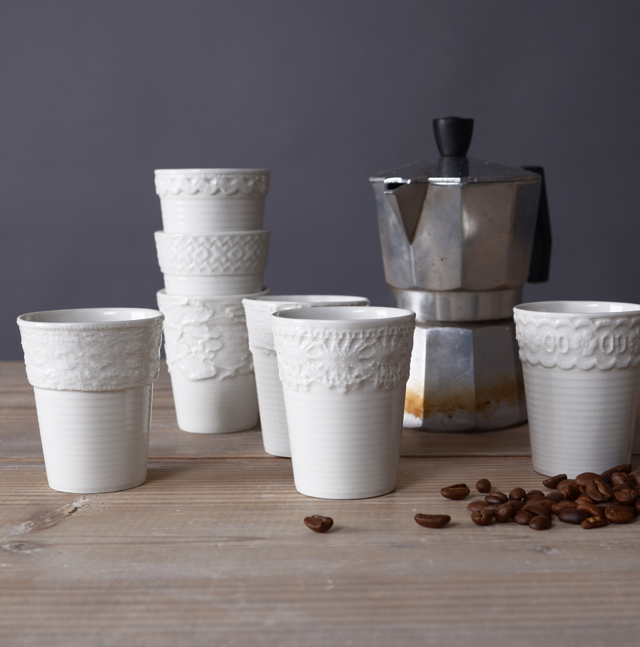 Espressokopjes door Fenna Oosterhoff