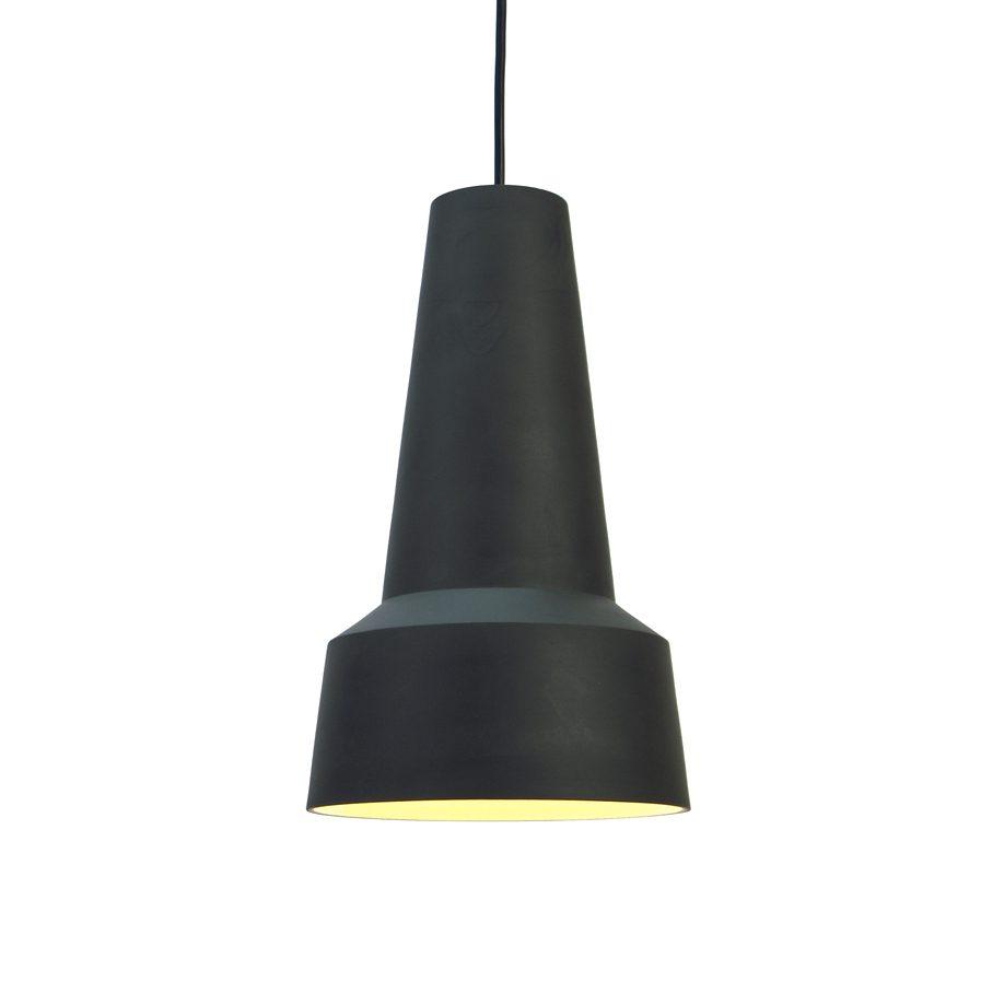 Hanglamp Solidum gemaakt van steengoed laag model L1402 ontwerp door Fenna Oosterhoff