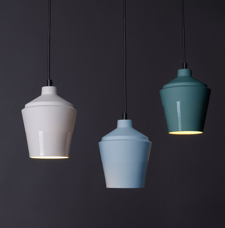 Notos small lamps, colours by Fenna Oosterhoff