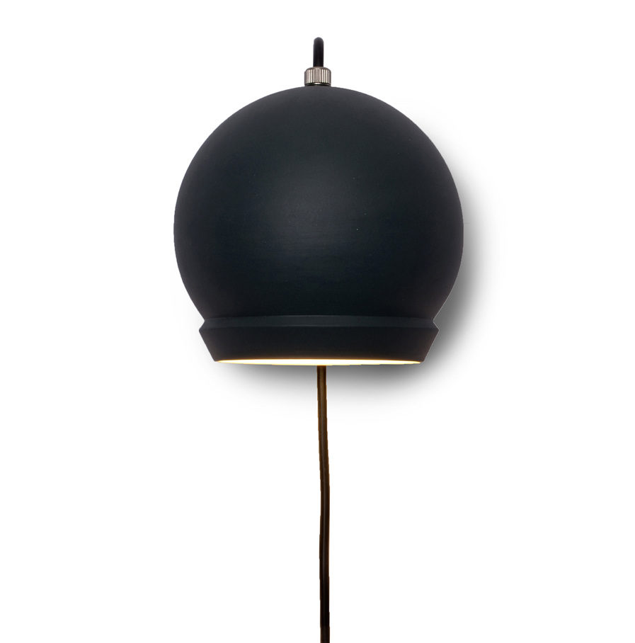 Wandlamp Boreas, vooraanzicht Suspense Wandcollectie
