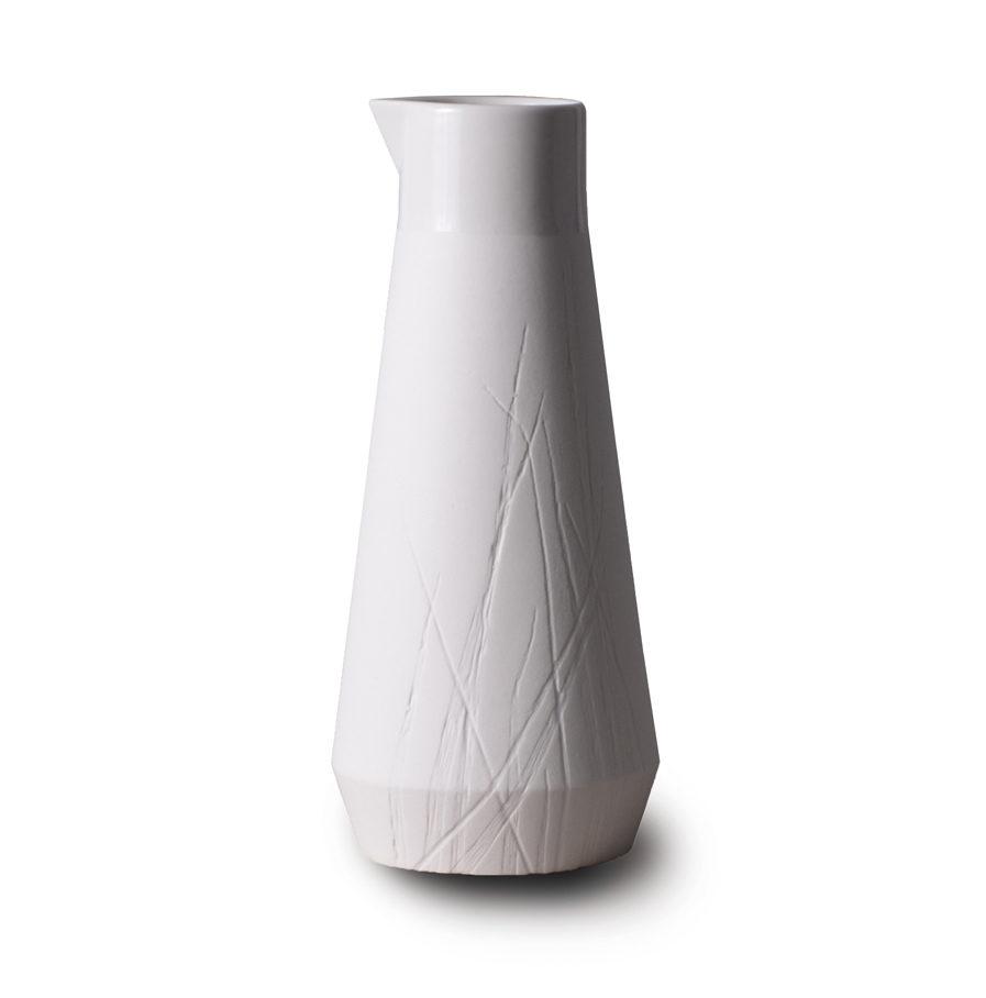Karaf Gramineae van wit porselein, 0.5L
