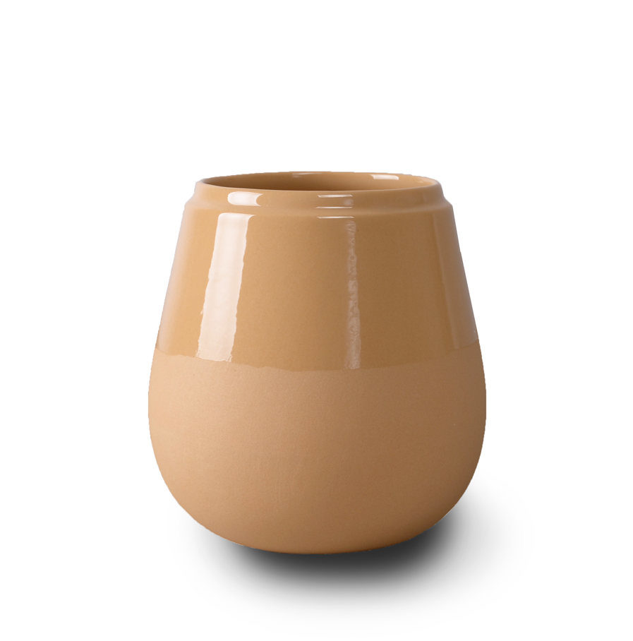Doolittle small vase ochre