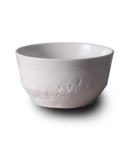 porcelain Espresso cup with lace, Rim