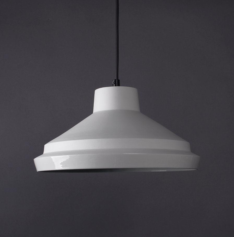 Hanglamp Notos Large van wit porselein