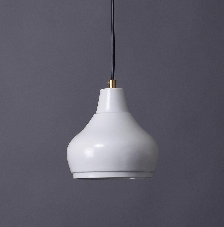 Hanglamp Aeolus Small van wit porselein