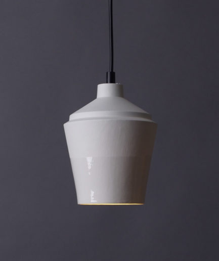Notos Small pendant, white