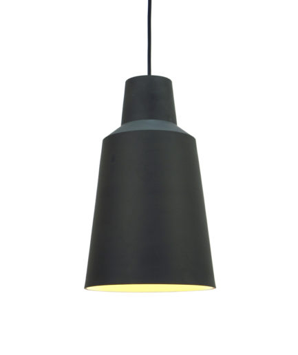 Stoneware pendant light Solidum, by Fenna Oosterhoff