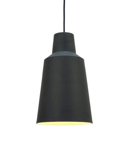 Hanglamp Solidum I, gemaakt van twee kleuren steengoed