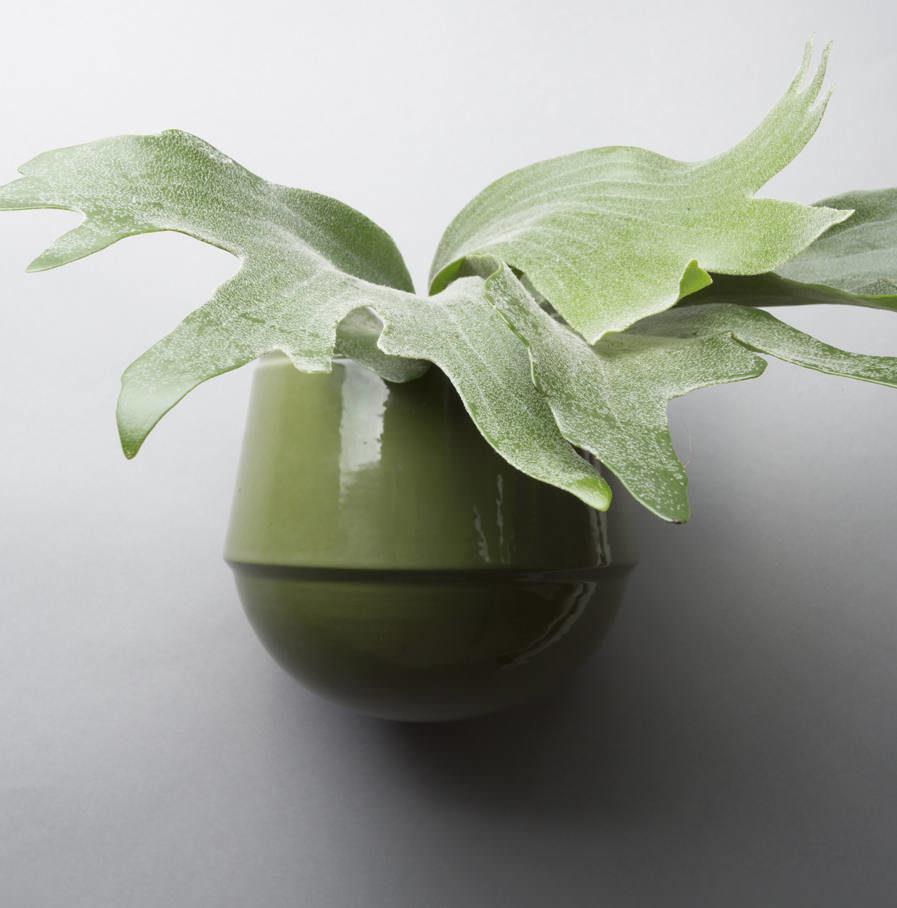 Wall pot Babylon green, Suspense Wall Collection