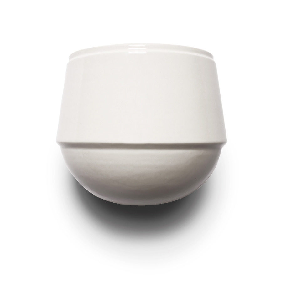 Wall pot Babylon white, Suspense Wall Collection