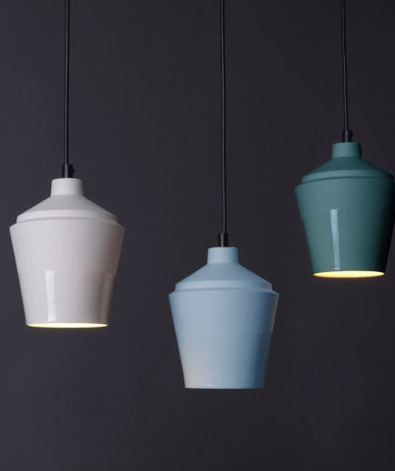 Porseleinen designlampen Notos small, ontwerp van Fenna Oosterhoff