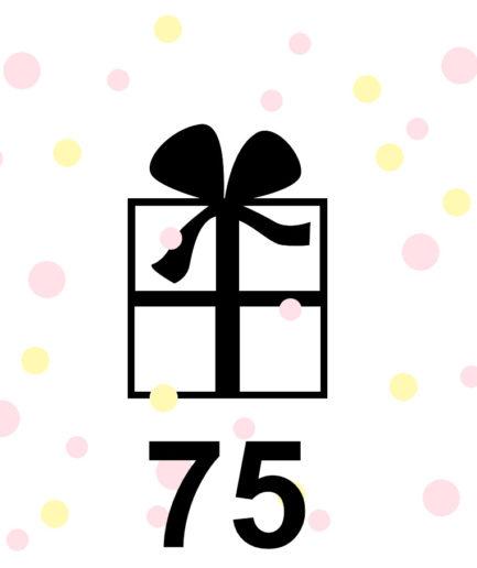 Gift voucher FENNA OOSTERHOFF 75 euro